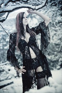 #Goth girl Snow VII by RemusSirion