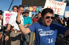 New York Times reporters have covered Donald J. Trump's rallies for more than a year. His supporters at these events often express their…