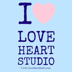 'i [Love heart] love heart studio' design on t-shirt, poster, mug and many other products I Love Heart, My Love, Studio S, T Shirt, Poster, Design, Products, My Boo, Tee