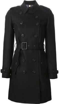 $975, Burberry Brit Classic Trench Coat. Sold by farfetch.com. Click for more info: https://lookastic.com/women/shop_items/307078/redirect