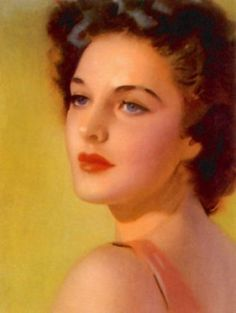 Andrew Loomis. Soft quality to her face.