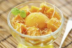 Surprisingly Creamy and Easy Mango Sorbet in a Blender