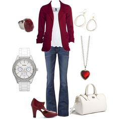 """""""Tailored Game Day Look for Texas A&M"""" by lindsey1017 on Polyvore"""