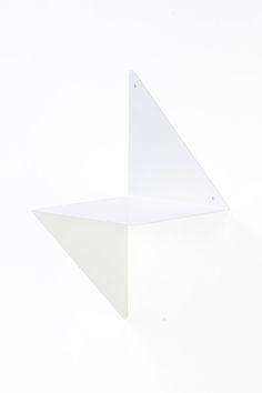 étagère 3D blanc