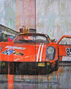 automotive paintings from artist Markus Haub