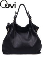 fashion large capacity black shoulder tote women genuine leather handbag discount