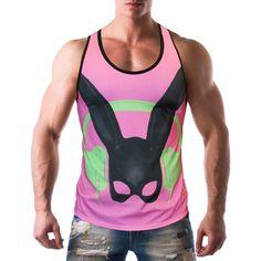 Alpha Male Undies is an online underwear store offers underwear, swimwear and clothing for men with worldwide shipping. Underwear Store, Pink Rabbit, Nice Tops, Athletic Tank Tops, Tank Man, Tanks, Swimwear, Mens Tops, T Shirt