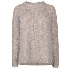 By Malene Birger Fillo Boucle Knit Jumper ($145) ❤ liked on Polyvore featuring tops, sweaters, oversized jumper, knit jumper, knit sweater, long sleeve knit tops and boucle sweater
