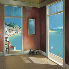 Michiel Schrijver - Paintings   michiel   schrijver   expositie   schilderijen   bouwwerken   pilaren   koepels   bogen   linten   vlaggen   borden   picturaal   creatief   verbeelding