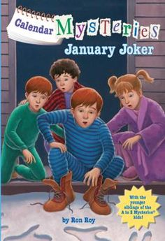 Calendar Mysteries #1: January Joker by Ron Roy,John Steven Gurney, Click to Start Reading eBook, It's a mystery every month from popular A to Z Mysteries author Ron Roy!January is for Joker...In th