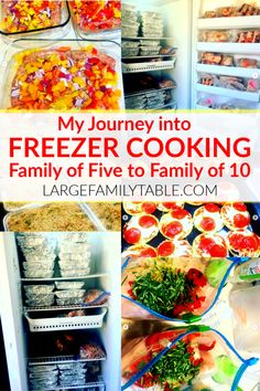 Come learn how I started freezer cooking as a young mom then made it work as my family doubled in size! Bulk Cooking, Batch Cooking, Freezer Cooking, Real Cooking, Cheap Clean Eating, Clean Eating Snacks, Clean Lunches, Kid Lunches, Kid Snacks