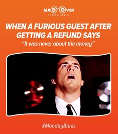 Can I have my 'refund' back? Monday Blues, I Can, Digital Marketing, Sayings, Movie Posters, Life, Lyrics, Film Poster, Billboard