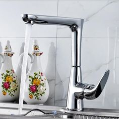 (66.82$)  Buy here - http://aivnj.worlditems.win/all/product.php?id=32792109998 - High Quality New Arrival kitchen faucet chrome brass hot and cold water tap sink mixer tap wash basin faucet basin mixer BM