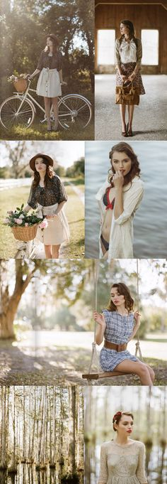 Pretty vintage style from Ruche. One of the first things that inspired me to become a photographer.