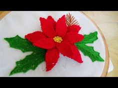 Hand Embroidery: Picot stitch - YouTube