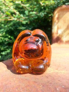 Vintage Scandinavian Bergdala art glass troll by fcollectables, €12.50