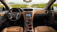 Chevy Traverse, a home away from home.  www.fhdailey.com