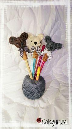 Tuto amigurumi - Embout de stylo/crayon