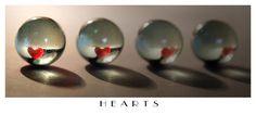 Hearts' reflection