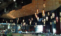 DIY restaurant lighting..