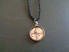 Pete's Dragon inspired compass necklace by TinkerGirlBoutique
