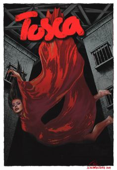 tosca opera poster - Google Search