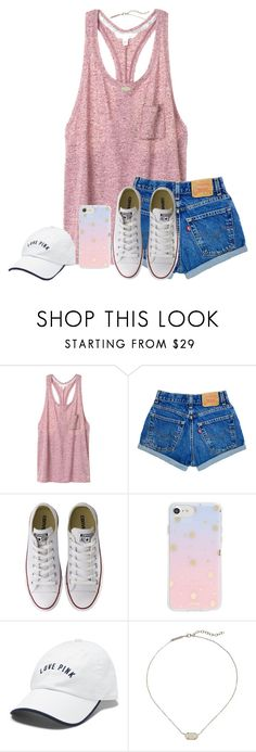 """worldz fair: done ❤️"" by mmadss ❤ liked on Polyvore featuring Victoria's Secret, Converse, Sonix and Kendra Scott"