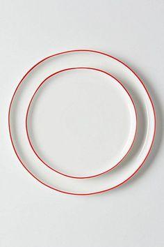 Vermelho dinner and side plates - Anthropologie