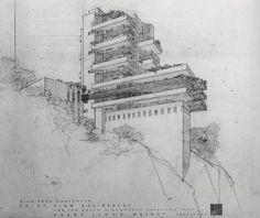 Drawings by American Architect I Frank LLoyd Wright                                                                                                                                                                                 Mehr