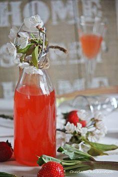 Erdbeer-Rhabarber-Likör von Charlottas Küchentisch