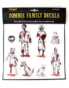 zombie decals
