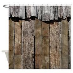 Designer Shower Curtain Ideas image of cool designer shower curtains Rustic Old Barn Wood Shower Curtain Coastal Vintage And Urban Chic Shower Curtains