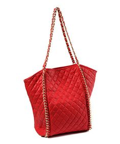 Take a look at this Red Alaya Tote by Amrita Singh on  zulily today! 77b6fbf7b1