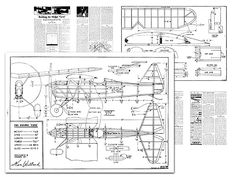 This is not a full-size plan, this is a scanned copy of the original magazine pages, inc drawings.