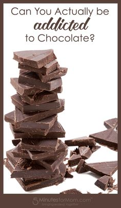 Is chocolate addiction real?