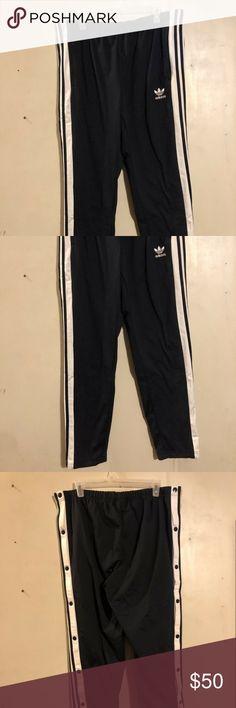 adidas Czarny Originals Adibreak track pants Odzież Damska