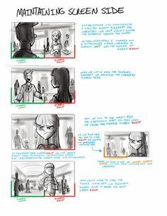 Composing a Storyboard Animation Storyboard, Storyboard Artist, Animation Reference, Drawing Reference, Pose Reference, Comic Book Layout, Comic Tutorial, Animation Tutorial, Comic Panels