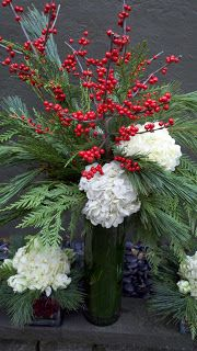 I Love Flowers: WINTER HOLIDAY FLORALS
