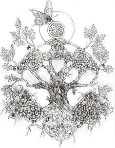 61 ideas tattoo for women small celtic tree of life Celtic Tattoo For Women, Celtic Tree Tattoos, Best Tattoos For Women, Trendy Tattoos, Small Tattoos, Tattoos For Guys, Celtic Art, Life Tattoos, Body Art Tattoos