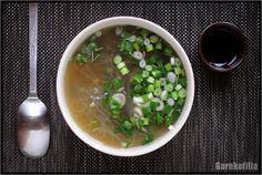 Garnkofilia: ZAKOCHAŁAM SIĘ W ROSOLE Zero Waste, Soup, Vegan, Dinner, Ethnic Recipes, Dining, Food Dinners, Soups, Vegans