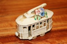 Buy Vintage Capodimonte Italian Porcelain - Beautiful Nuova Tram for R150.00