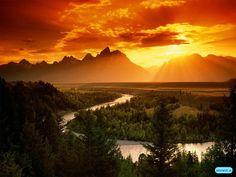nature sunset - Google Search