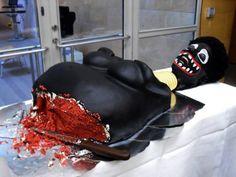 La torta que llora al cortarla