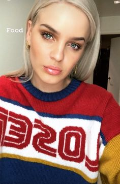 Anne Maria, Platinum Hair, Interesting Faces, Celebs, Celebrities, Sport Wear, Stylish Girl, Woman Crush, Makeup Looks