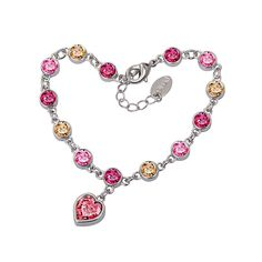 Colorful Crystal Bracelet For Girls