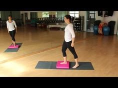 Ganzkörpertraining mit dem AIREX Balance Pad - YouTube