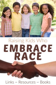 Get tips and resources and book recommendations to help raise kids who are inclusive, understanding and who embrace race. Educational Activities, Raising Kids, Book Recommendations, Diversity, The Fosters, Parenting, Racing, Children, Tips