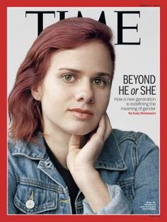 Beyond He or She Gender Time Magazine cover
