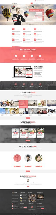 Hellow Free PSD Template