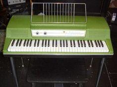 Wurlitzer Electric Piano 200 Green